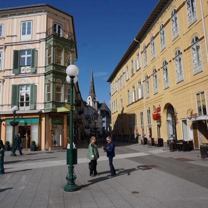 Innenstadt mit Pfarrkirche