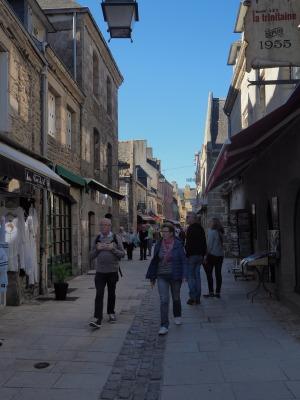 Straßenszene im Ville Close