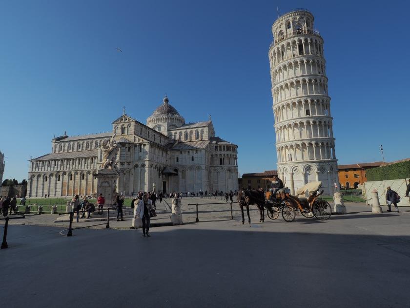 Pisa – Da, wo Touristen komische Sachen machen…