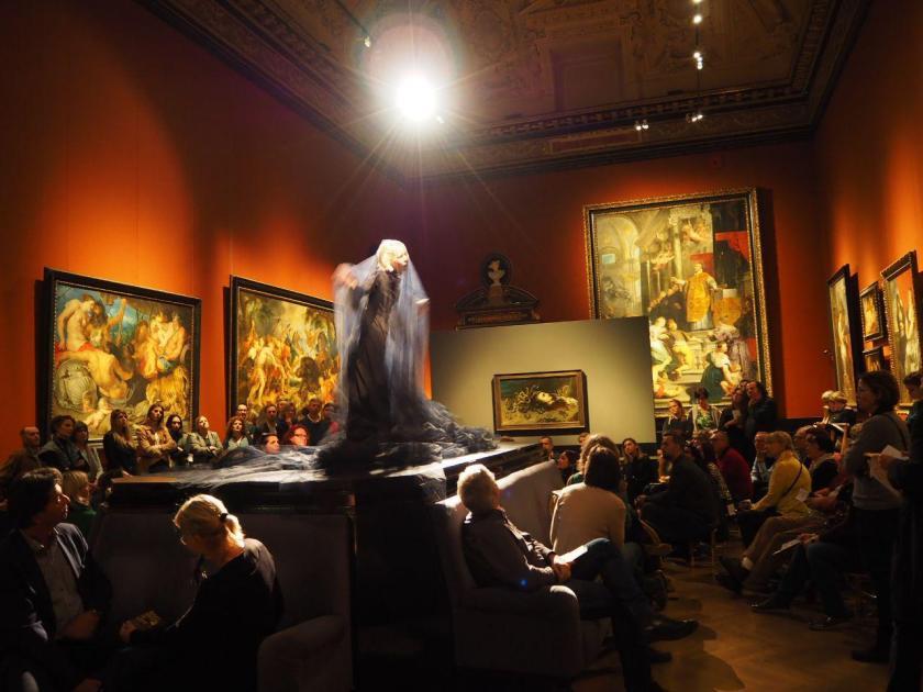 Performing Art at its Best – #GanymedinLove und die Liebe im Kunsthistorischen Museum Wien