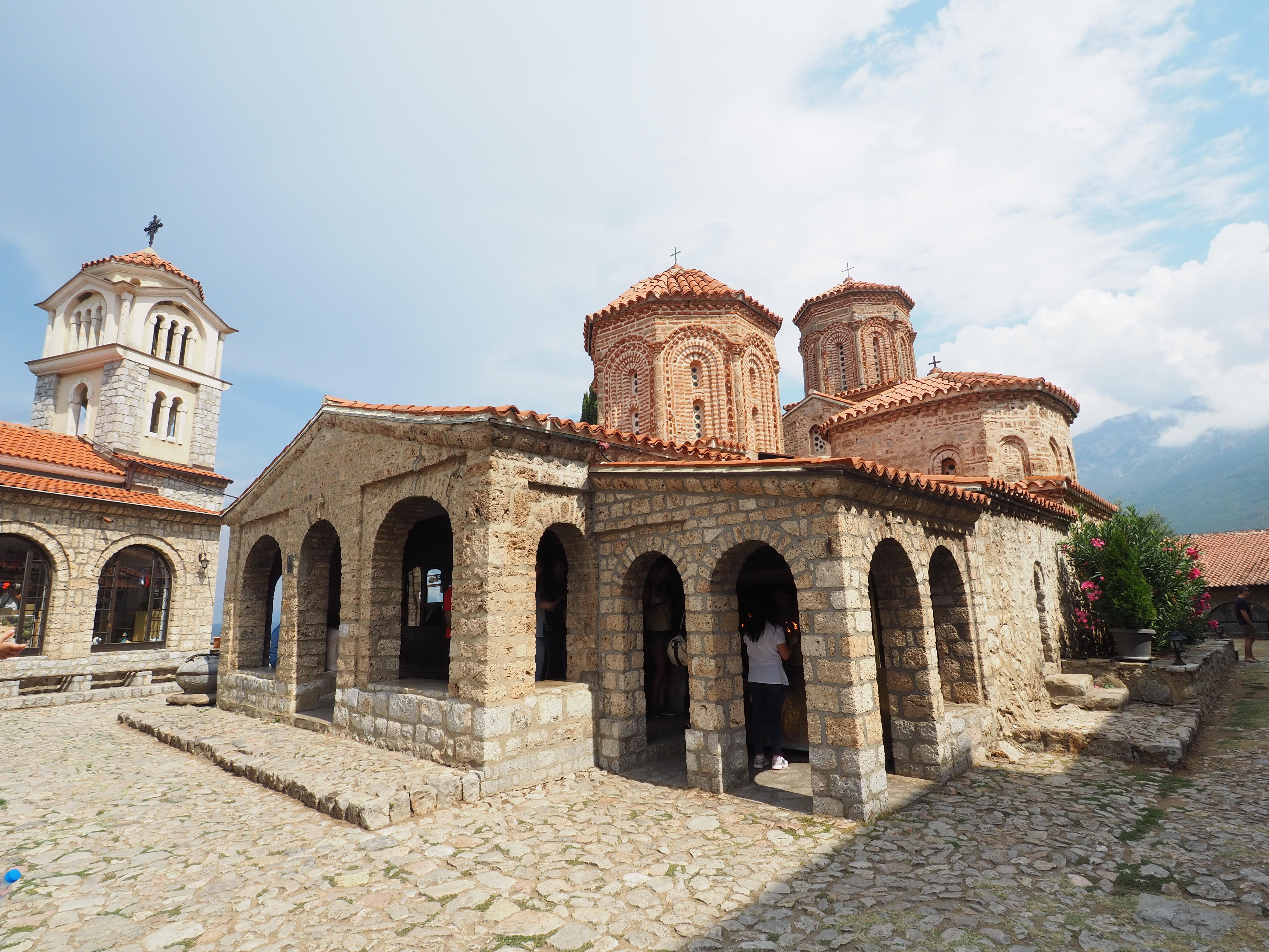 Sveti Naum – Das Kloster mit den Pfauen