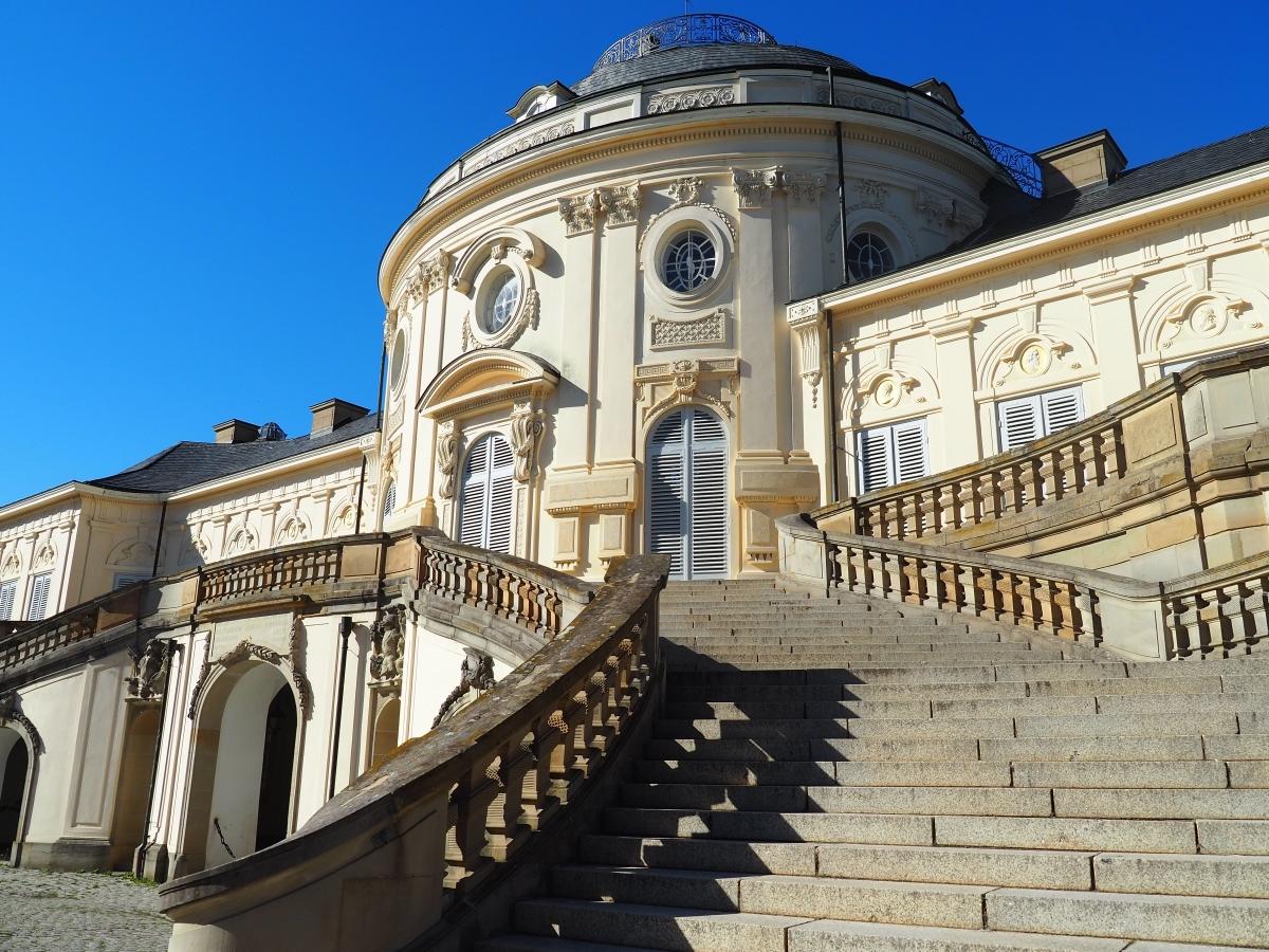Schloss Solitude: Am Hof von Carl Eugen